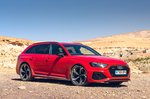 Audi RS4 Avant 2020 RHD static front quarter shot