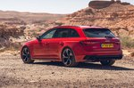 Audi RS4 Avant 2020 RHD static rear quarter shot