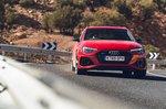 Audi RS4 Avant 2020 RHD front cornering shot