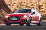 Audi RS4 Avant 2020 RHD front tracking