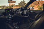 Audi RS4 Avant 2020 RHD dashboard