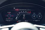 Audi RS4 Avant 2020 RHD instruments