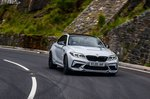 BMW M2 CS 2020 front wide tracking