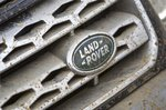 Land Rover Freelander muddy badge