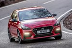 Hyundai i30N 2020 front cornering