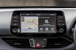 Hyundai i30N 2020 RHD infotainment