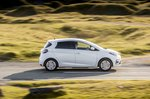 Renault Zoe Van side view