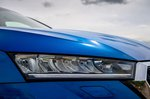 Skoda Octavia hatchback 2020 headlight detail