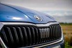 Skoda Octavia hatchback 2020 grille detail