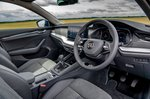 Skoda Octavia hatchback 2020 front seats