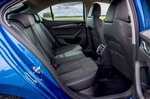 Skoda Octavia hatchback 2020 rear seats