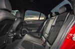 Alfa Romeo Quadrifoglio 2020 RHD rear seats