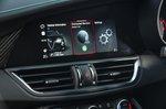 Alfa Romeo Quadrifoglio 2020 infotainment