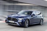Mercedes E Class 2020 front tracking