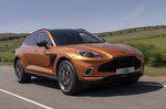 Aston Martin DBX 2020 front right tracking