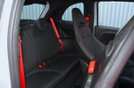 Abarth 595 2020 rear seats