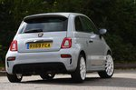 Abarth 595 2020 rear cornering