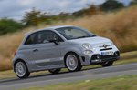 Abarth 595 2020 right tracking
