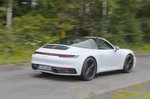 Porsche 911 Targa 2020 rear tracking