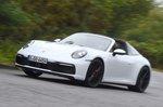 Porsche 911 Targa 2020 front tracking