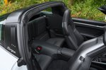 Porsche 911 Targa 2020 rear seats