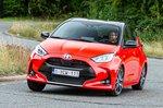 Toyota Yaris 2020 front cornering