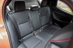 Toyota Yaris 2020 rear seats
