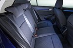 2020 Volkswagen Golf rear seats
