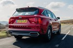 Kia Sorento 2021 rear tracking