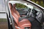 Audi S8 2020 front seats