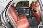 Audi S8 2020 rear seats