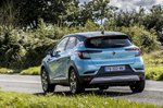 Renault Captur 2020 rear tracking