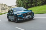 Audi SQ7 2020 front wide tracking