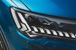 Audi SQ7 2020 headlight detail