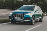 Audi SQ7 2020 front tracking