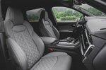 Audi SQ7 2020 front seats