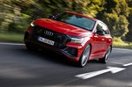 Audi SQ8 2020 wide front tracking