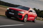 Audi SQ8 2020 front tracking