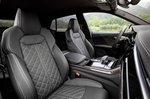 Audi SQ8 2020 front seats