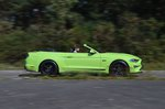 Ford Mustang Convertible  2020 right panning