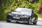 Lexus LC 500 2020 front cornering