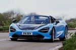 McLaren 720S Spider front