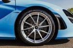McLaren 720S Spider front wheel