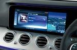 Mercedes E-Class saloon '16-pres infotainment