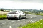 Porsche Panamera 2020 rear cornering