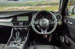 Alfa Romeo Giulia 2020 RHD dashboard