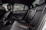 Alfa Romeo Giulia 2020 rear seats