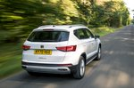 Seat Ateca 2021 rear tracking