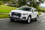 Audi Q2 2020 front tracking
