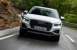 Audi Q2 2020 front head on